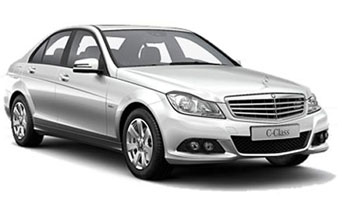 rent a Mercedes C-200 in greece