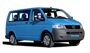 rent a VW Transporter in greece